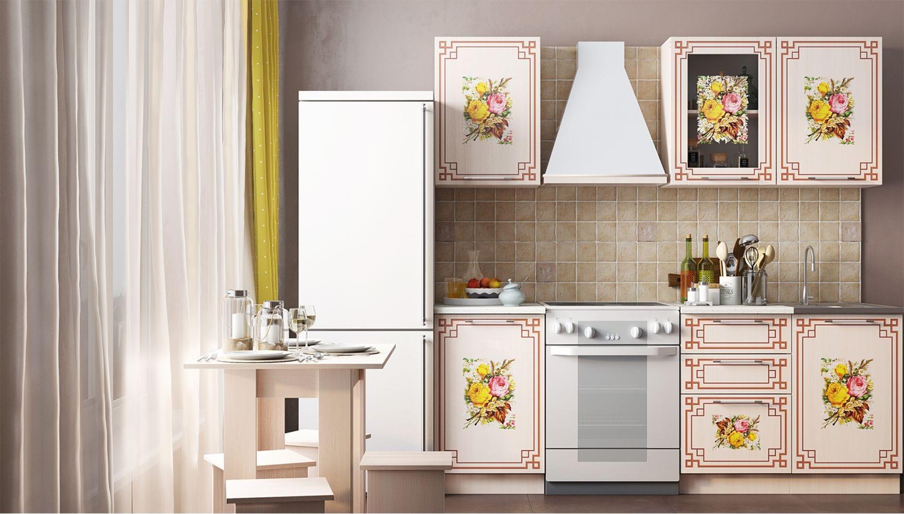 Кухонный гарнитур Легенда-21 (1,5)