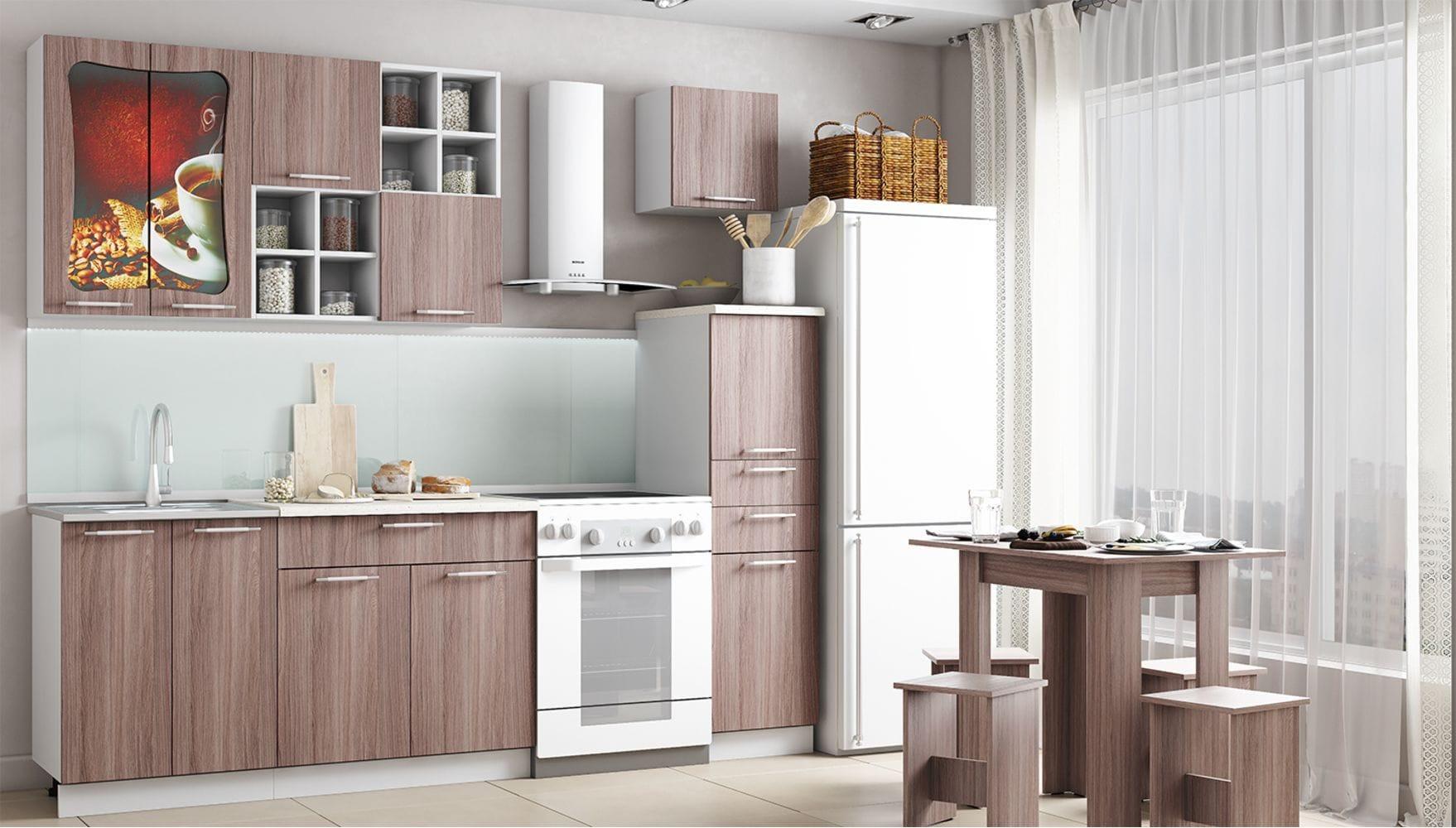 Кухонный гарнитур Легенда-11 (1,8)