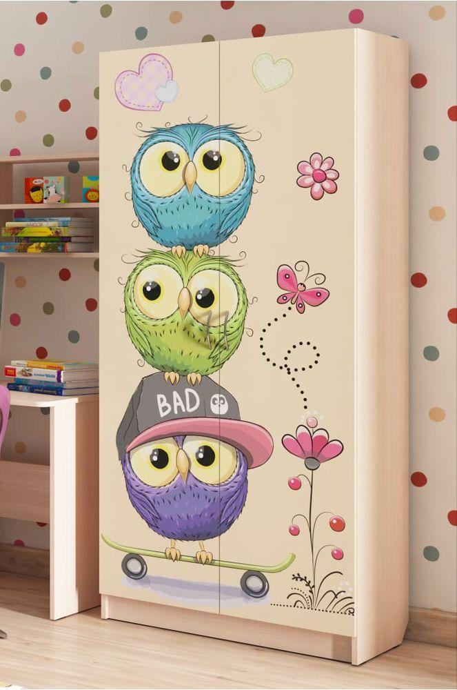 """Шкаф для детской """"Совы"""""""