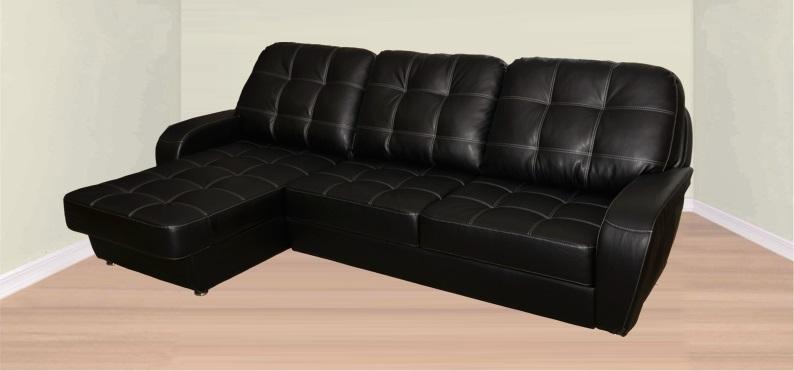 Офисный диван Оскар черный