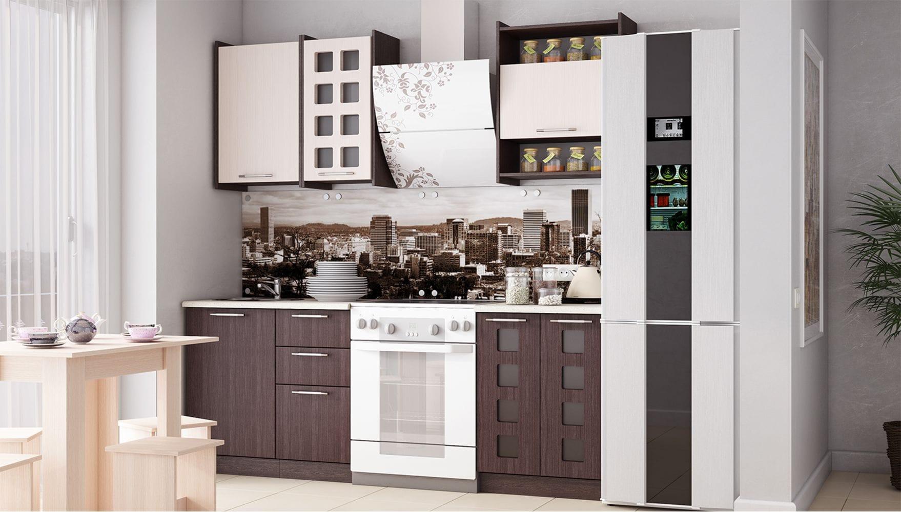 Кухонный гарнитур Легенда-19 (1,5)
