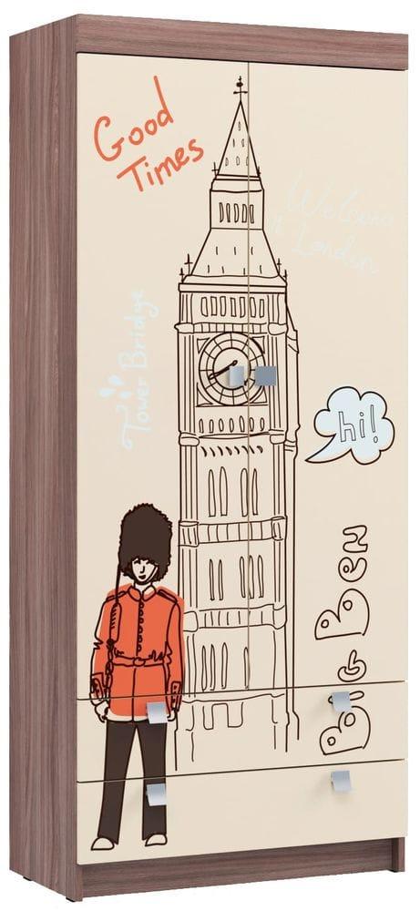 """Шкаф для детской """"Лондон"""""""