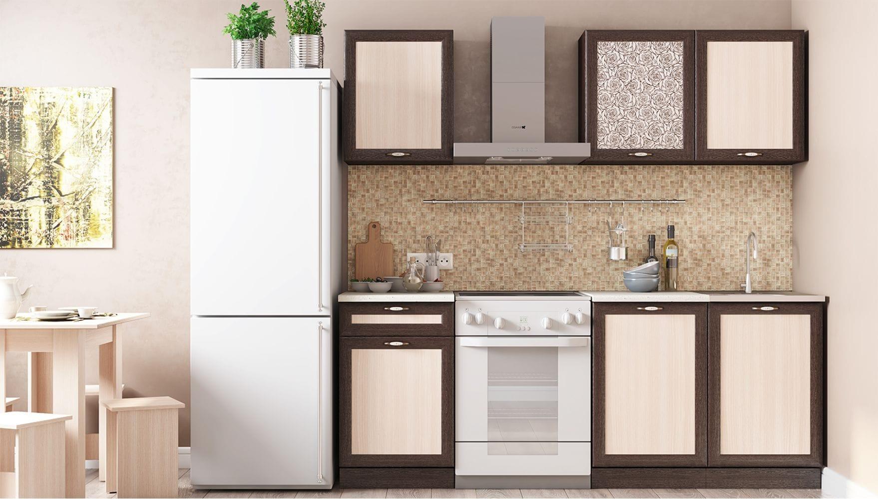 Кухонный гарнитур Легенда-26 (1,5)