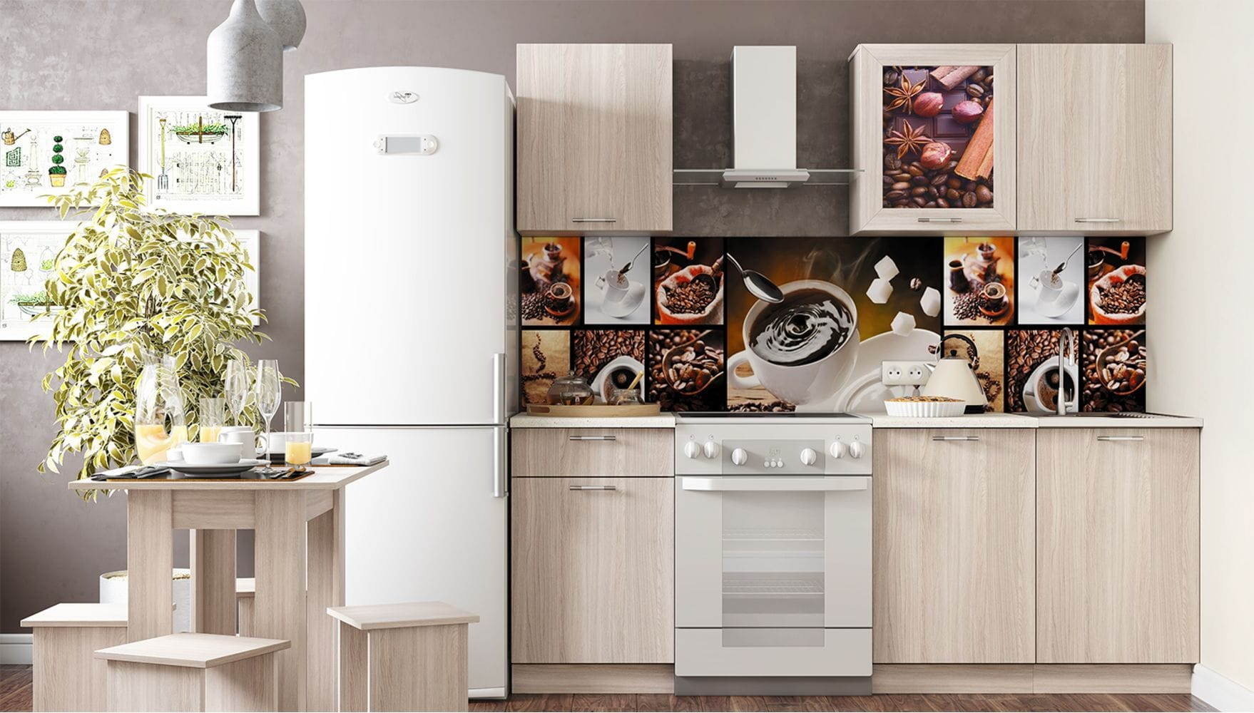 Кухонный гарнитур Легенда-16 (1,5) ЛДСП