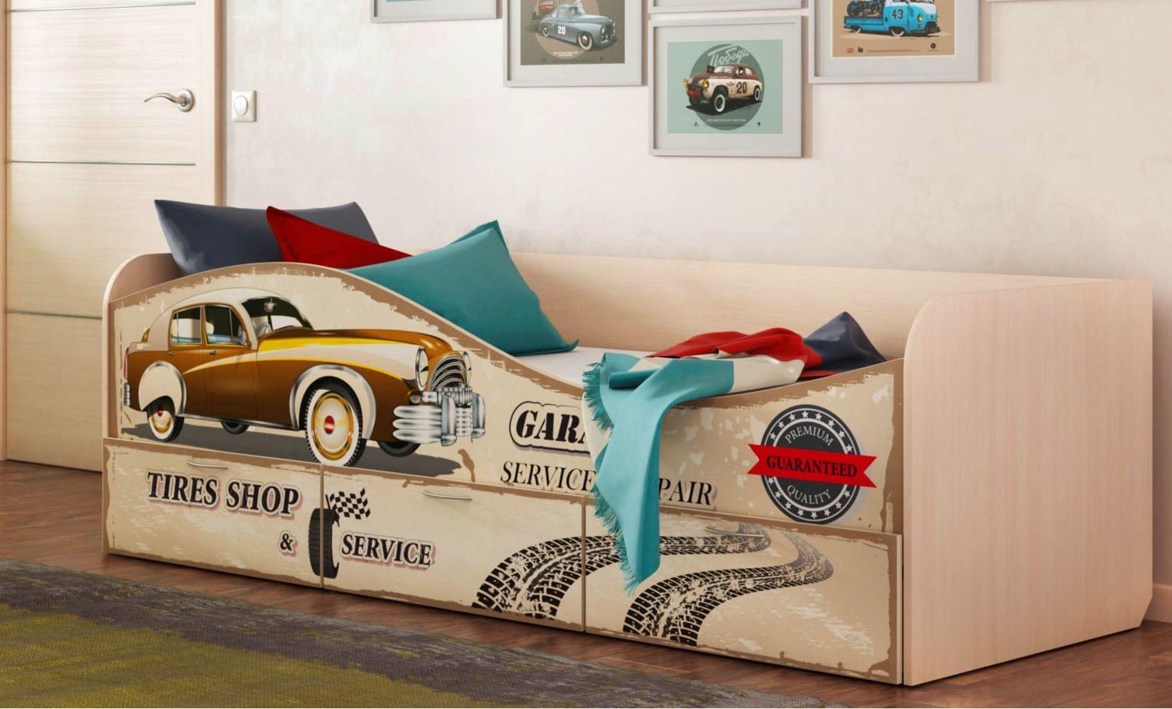 """Кровать для детской КР-3 """"Ретро"""""""