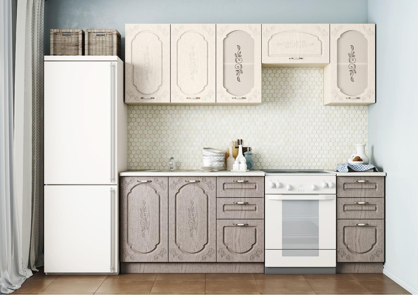 Кухонный гарнитур Легенда-1 (1,6)
