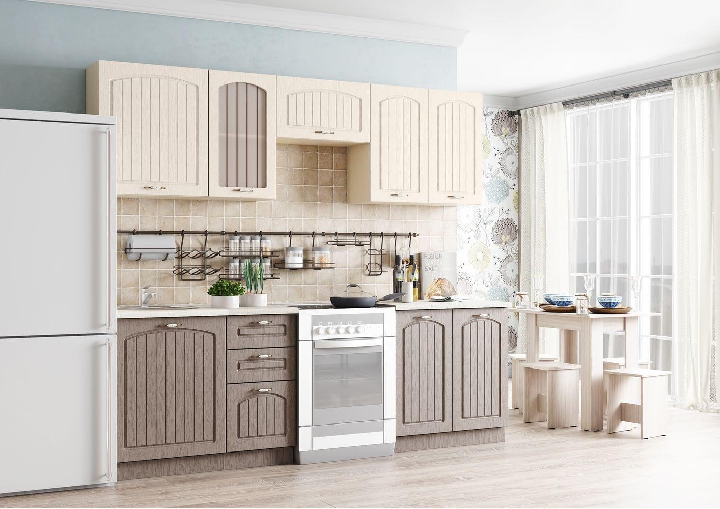 Кухонный гарнитур Легенда-29 (1,8)