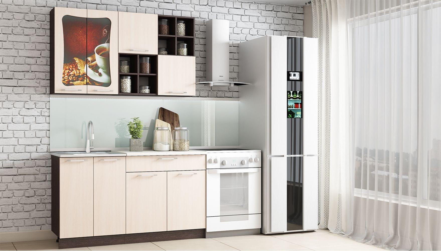 Кухонный гарнитур Легенда-11 (1,4)