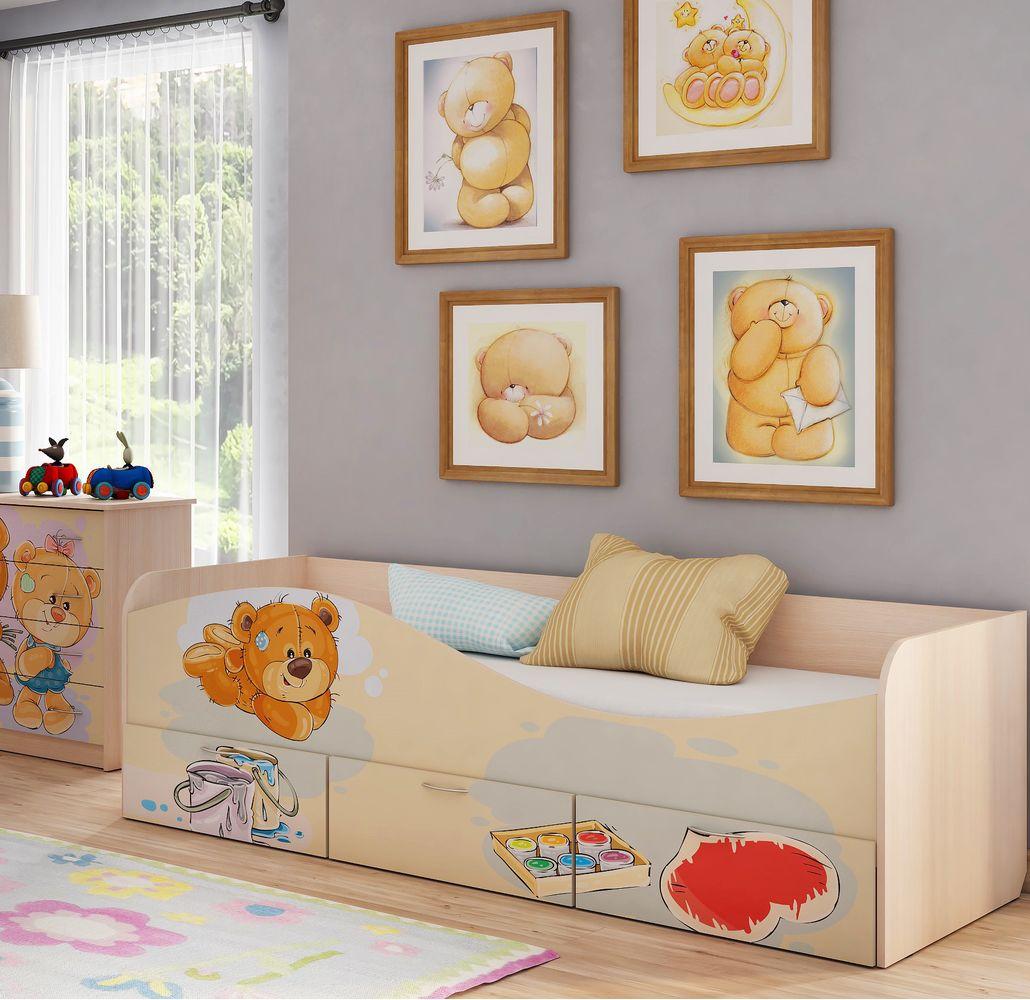 """Кровать для детской КР-3 """"Мишки"""""""