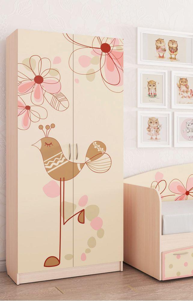"""Шкаф для детской """"Нежность"""""""
