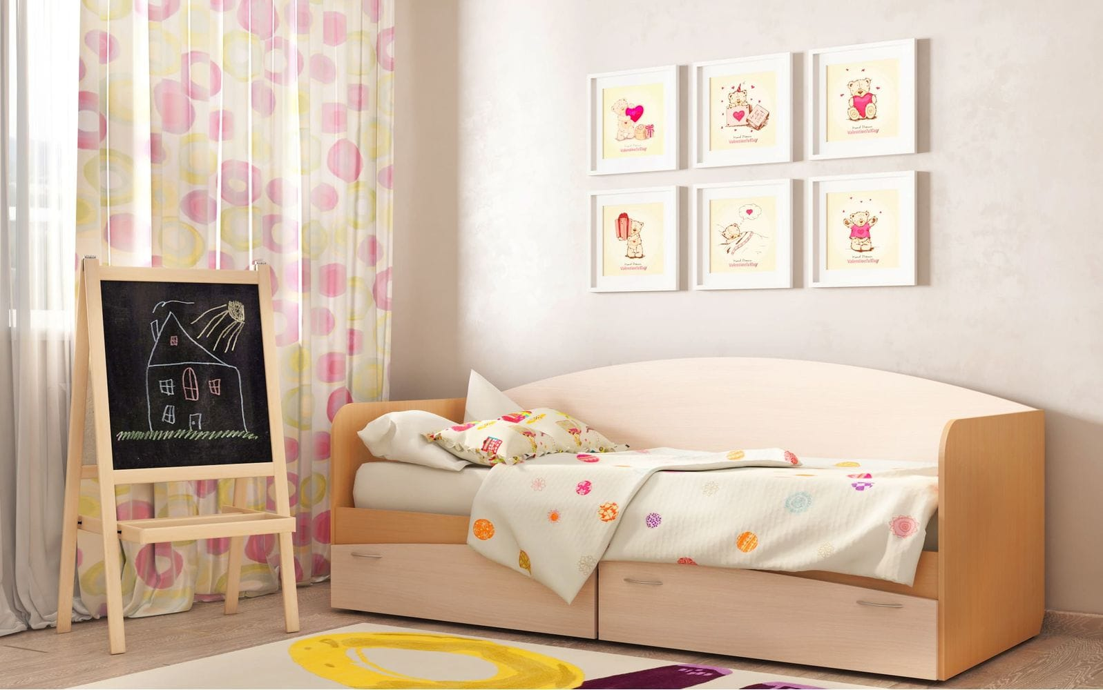 Кровать для детской КР-1