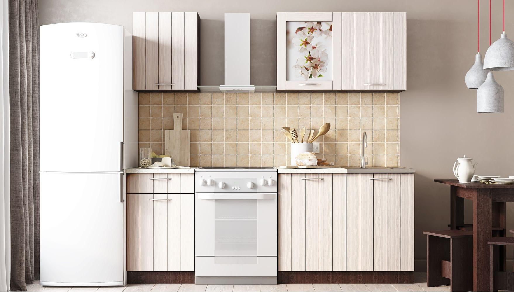 Кухонный гарнитур Легенда-16 (1,5) ПВХ