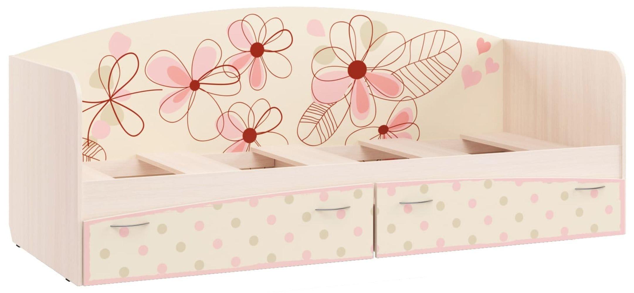 """Кровать для детской КР-1 """"Нежность"""""""
